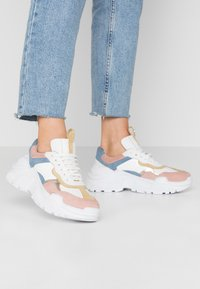Copenhagen Shoes - CANDY - Sneakers basse - rosa/yellow - 0
