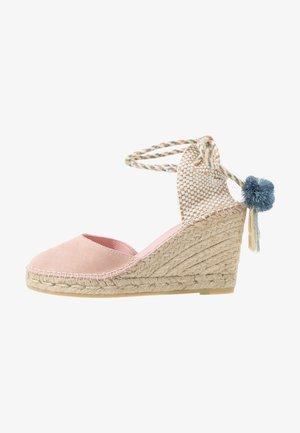 SIENNA - High heeled sandals - rosa