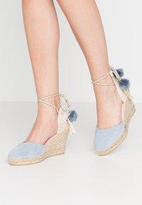 Copenhagen Shoes - SIENNA - High Heel Sandalette - baby blue - 0