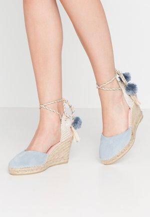 SIENNA - Sandalen met hoge hak - baby blue