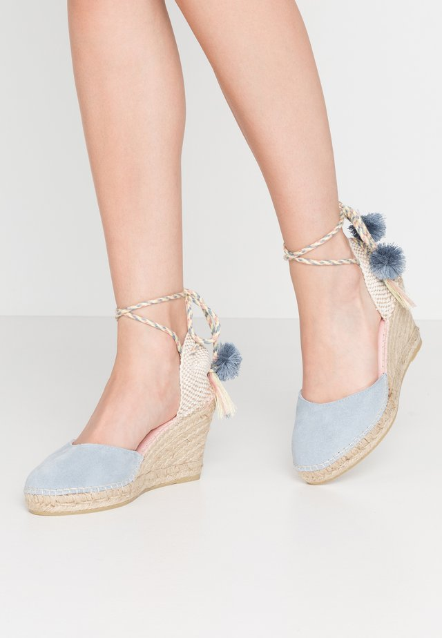 SIENNA - High heeled sandals - baby blue