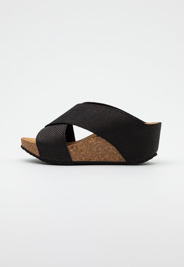FRANCES  - Sandaler - black