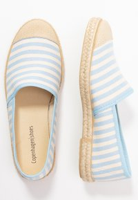 Copenhagen Shoes - FLORENCE STRIPES - Espadrilles - baby blue - 3