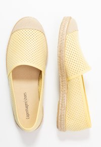 Copenhagen Shoes - MAGARITA - Espadrilles - yellow - 3