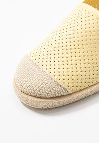Copenhagen Shoes - MAGARITA - Espadrilles - yellow - 2