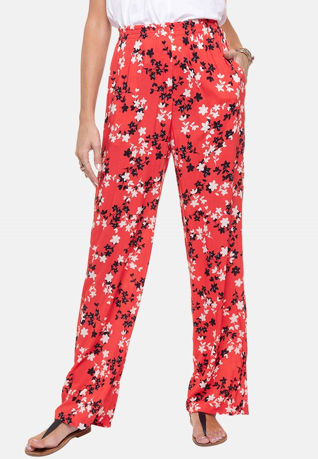 PARTIRA - Trousers - coral