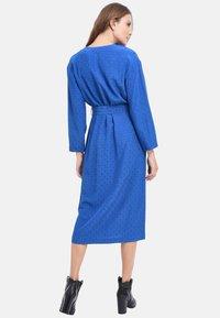 Chemins Blancs - Robe d'été - cobalt blue - 2