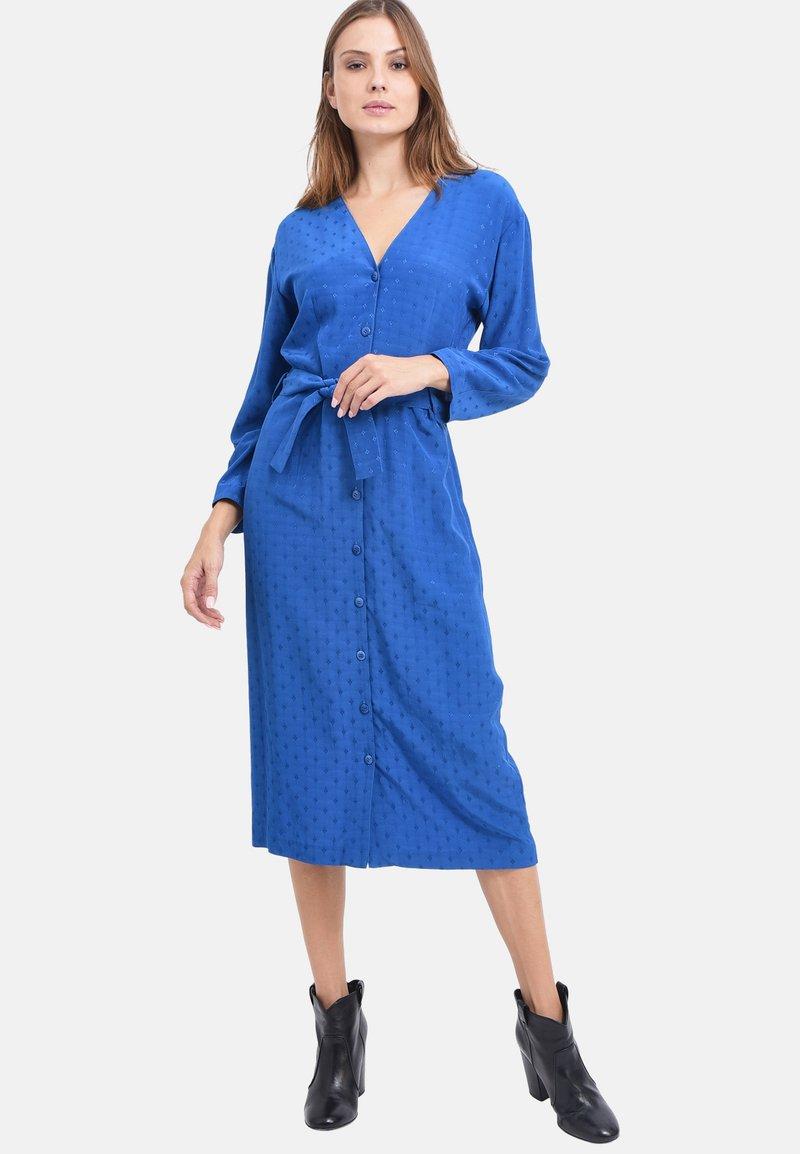 Chemins Blancs - Robe d'été - cobalt blue