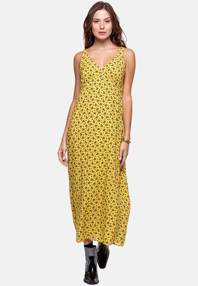 PLANADA - Maxi-jurk - yellow