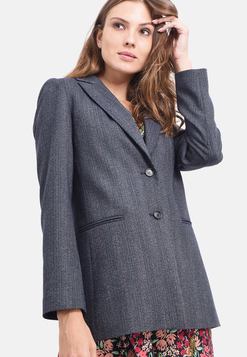 Chemins Blancs - Manteau court - navy blue