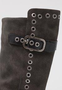 Coolway - GISELE - Kovbojské/motorkářské boty - grey - 2