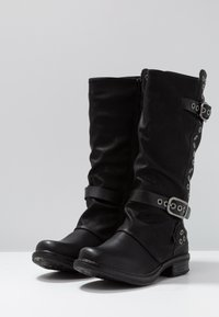 Coolway - GISELE - Cowboy/Biker boots - black - 4