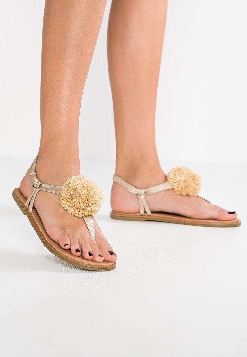 Coolway - ALYSA - T-bar sandals - beige