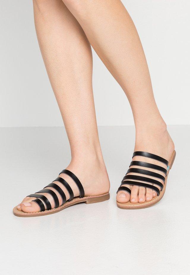 SIAR - T-bar sandals - black