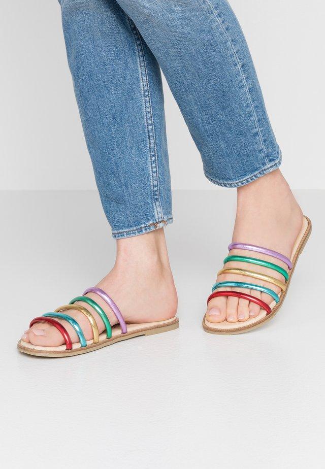 MERYL - Pantolette flach - multicolor