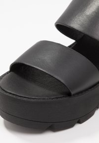 Coolway - JALLY - Platform sandals - black - 2