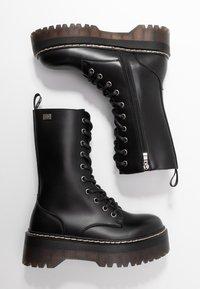 Coolway - ABRIE - Platåstøvler - black - 3