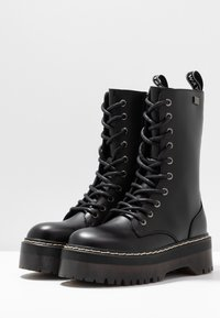 Coolway - ABRIE - Platåstøvler - black - 4