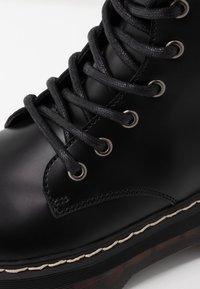 Coolway - ABRIE - Platåstøvler - black - 2