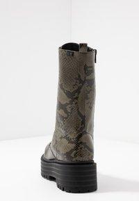 Coolway - SASHAS - Platform boots - khaki - 5