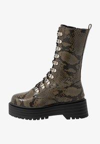 Coolway - SASHAS - Platform boots - khaki - 1