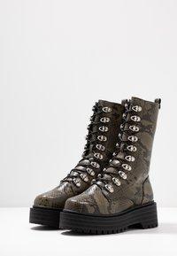 Coolway - SASHAS - Platform boots - khaki - 4