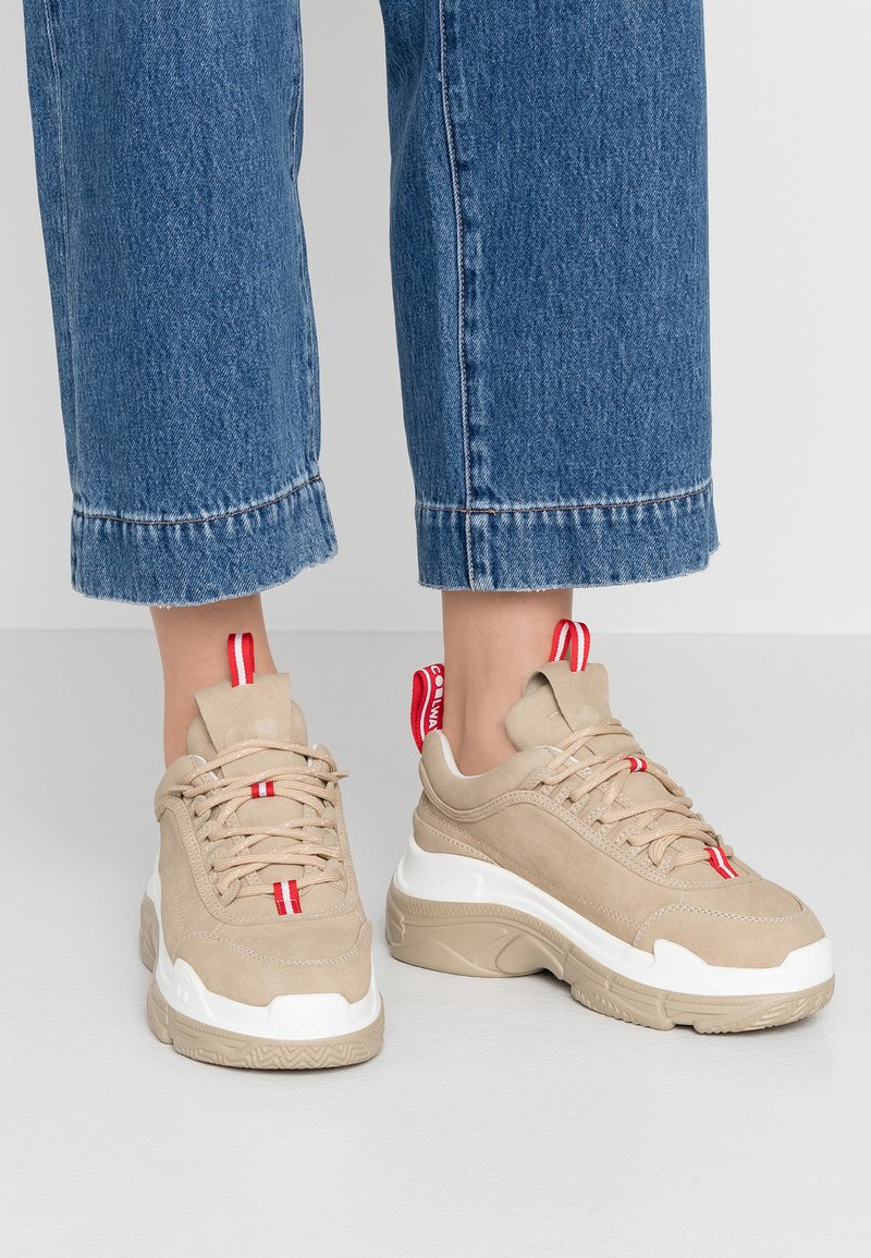 Coolway - SHIA - Sneakers laag - sand