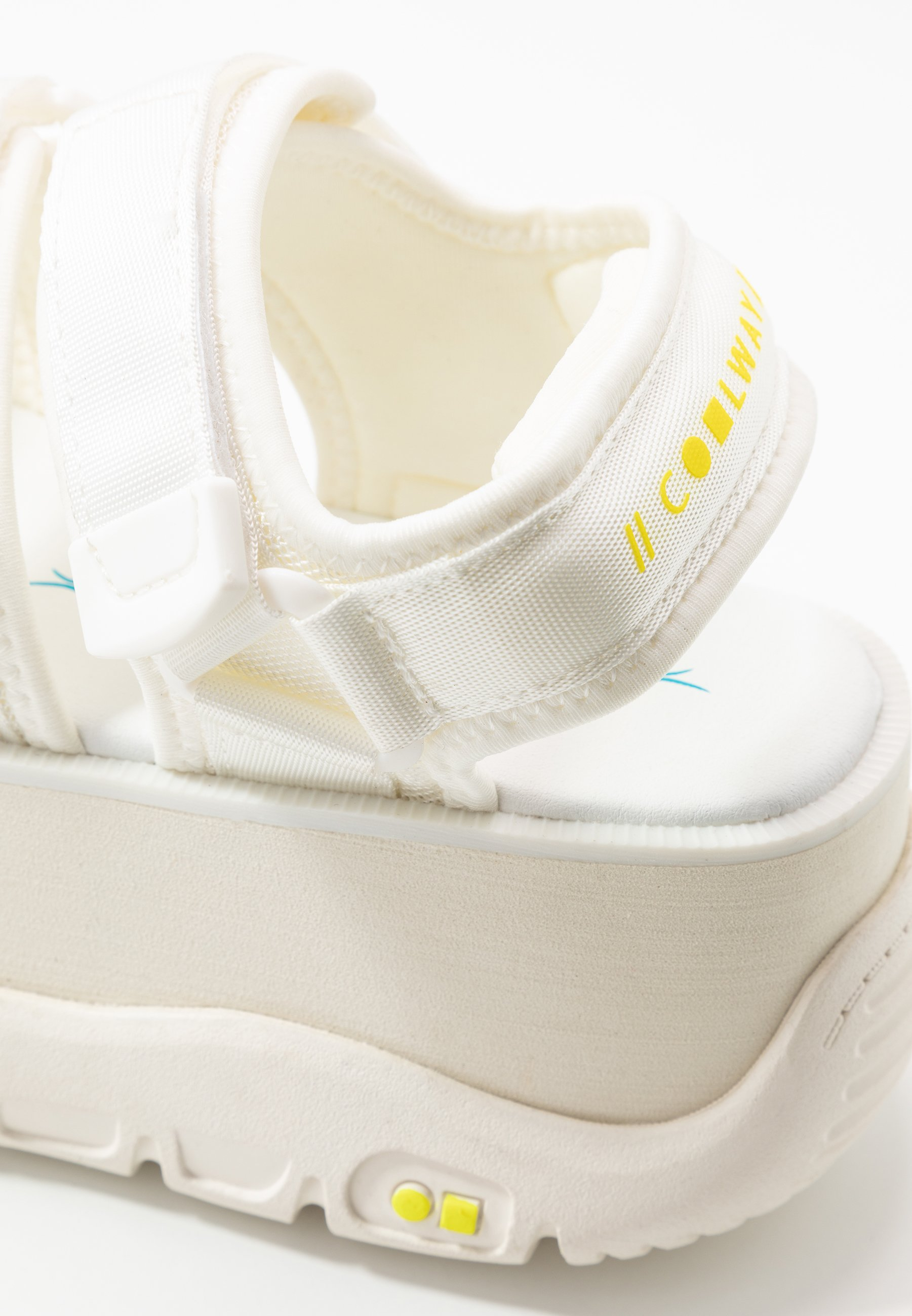 Coolway CALID - Sandales à plateforme - white