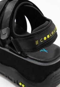 Coolway - CALID - Platform sandals - black - 2