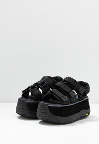 Coolway - CALID - Platform sandals - black - 4