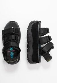 Coolway - CALID - Platform sandals - black - 3