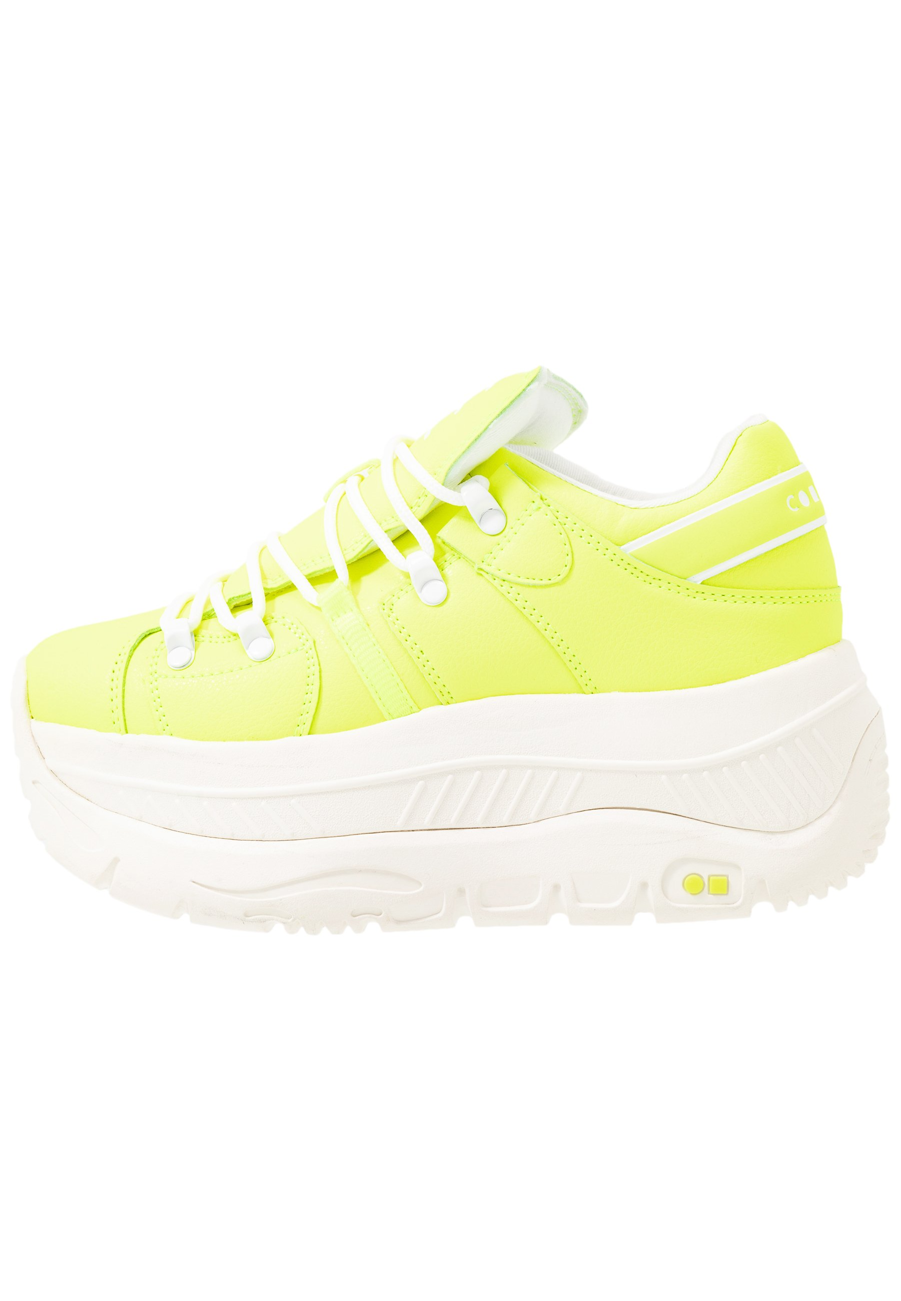 Coolway CRASH - Sneakersy niskie - yellow