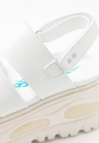 Coolway - GROUND - Platform sandals - white - 2