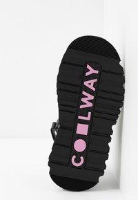 Coolway - GROUND - Platform sandals - black - 6