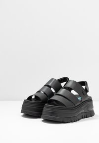 Coolway - GROUND - Platform sandals - black - 4