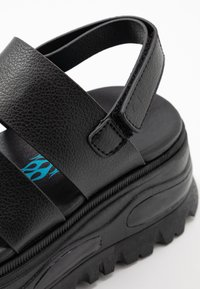 Coolway - GROUND - Platform sandals - black - 2