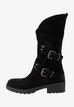 ALIDA - Cowboy/Biker boots - black