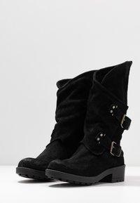 Coolway - ALIDA - Cowboy/Biker boots - black - 4