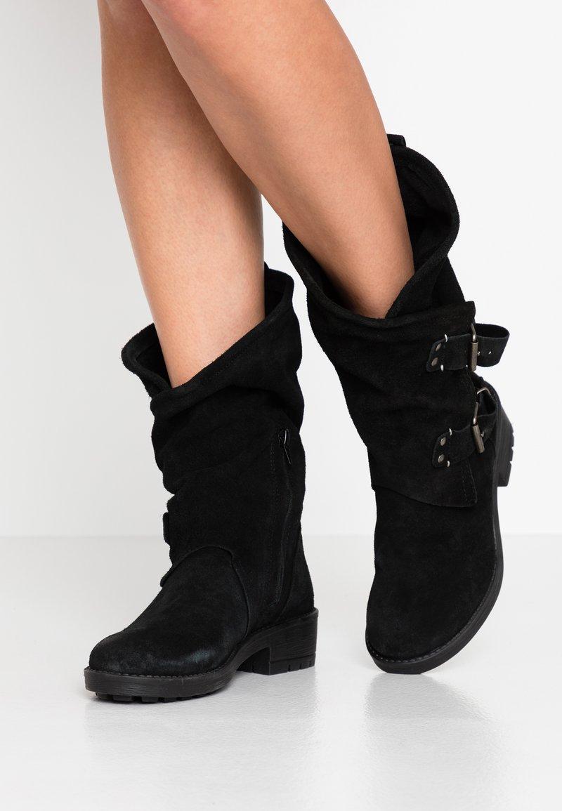 Coolway - ALIDA - Cowboy/Biker boots - black