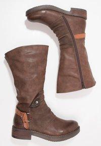 Coolway - DAVISON - Cowboy/Biker boots - brown - 1