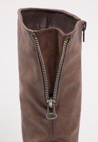 Coolway - DAVISON - Cowboy/Biker boots - brown - 5