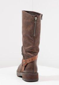 Coolway - DAVISON - Cowboy/Biker boots - brown - 3