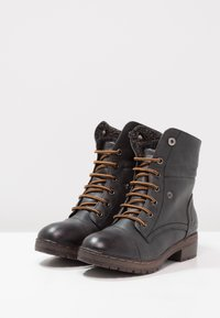 Coolway - BRING - Lace-up ankle boots - black - 7
