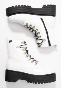 Coolway - Platform ankle boots - white - 3
