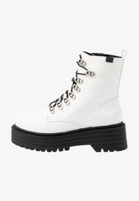 Coolway - Platform ankle boots - white - 1