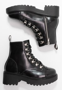 Coolway - TESA - Lace-up ankle boots - black - 3