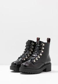 Coolway - TESA - Lace-up ankle boots - black - 4