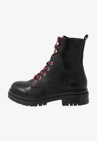 Coolway - TAMAR - Platform ankle boots - black - 1