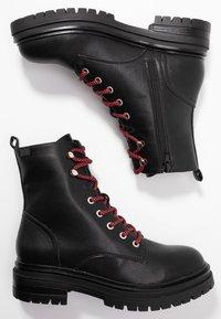 Coolway - TAMAR - Platform ankle boots - black - 3