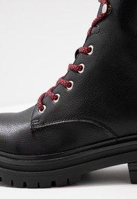 Coolway - TAMAR - Platform ankle boots - black - 2